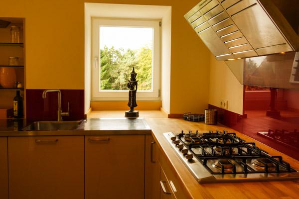 Küche im Turmhaus
