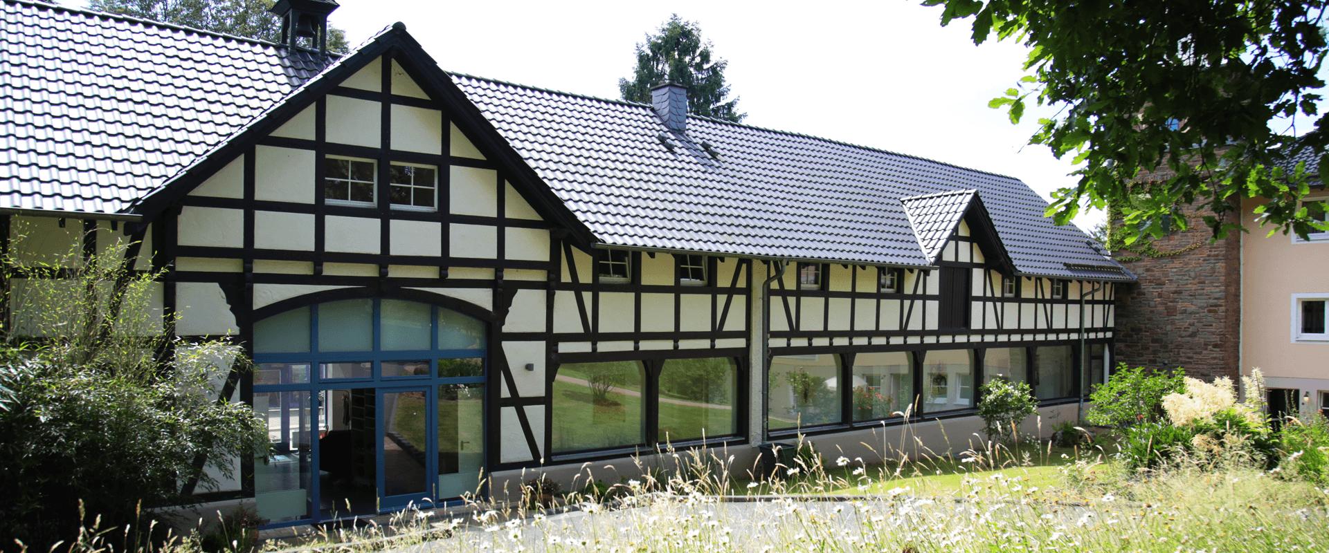 Eingangsbereich Gut Alte Heide