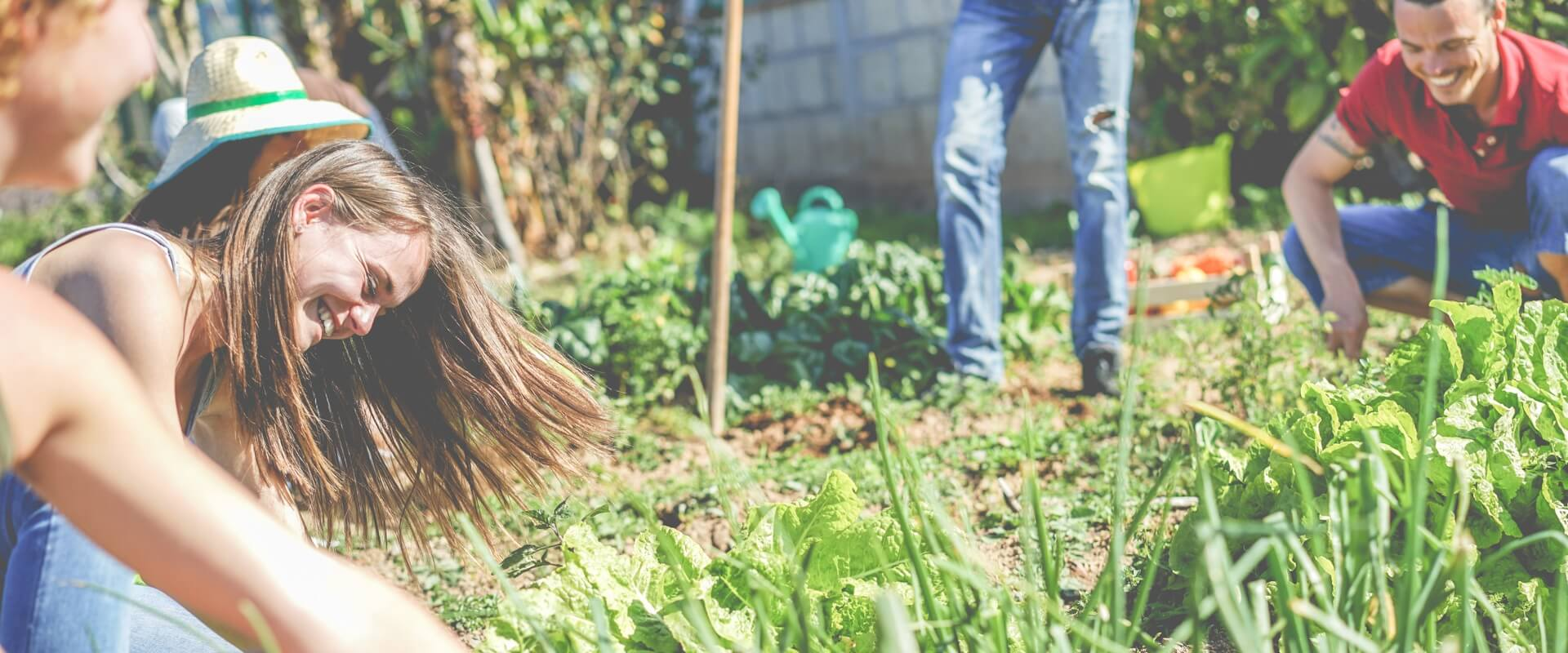 Gartenarbeit Jugendliche